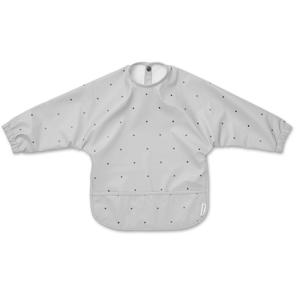 Liewood - Merle Cape Bib Classic Dot Dumbo Grey