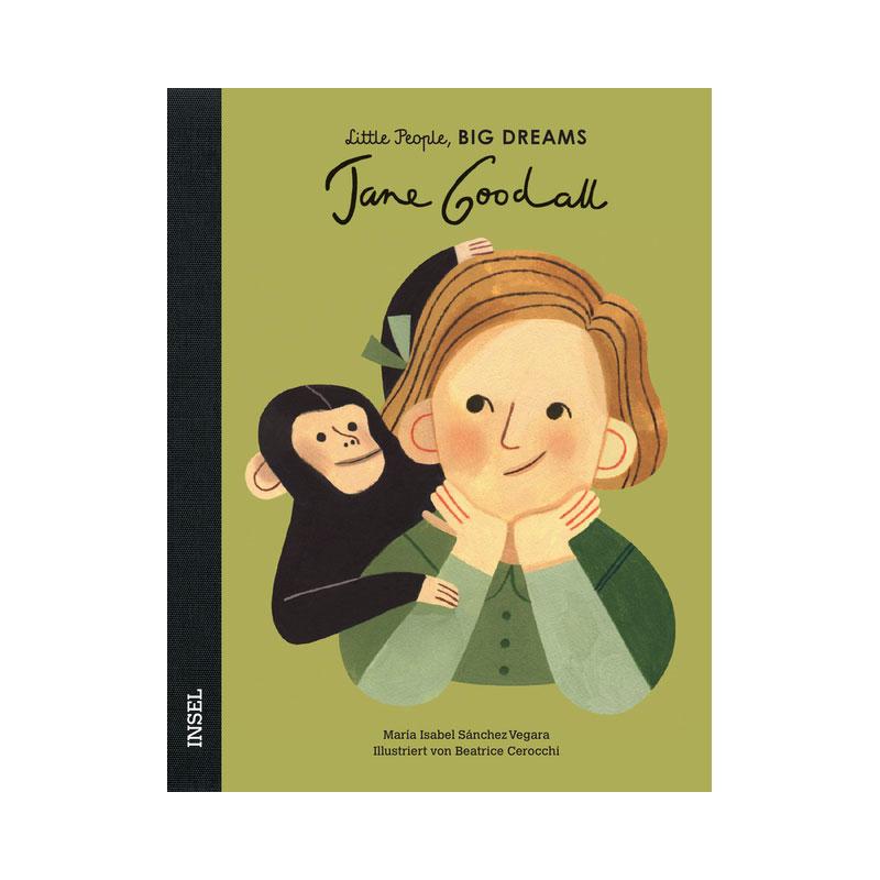 Little People, Big Dreams: Jane Godall ab 4J.