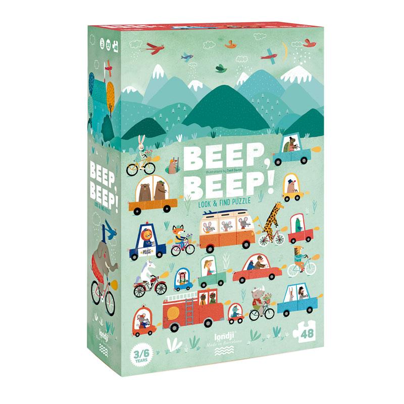 Londji - Beep, beep! Puzzle