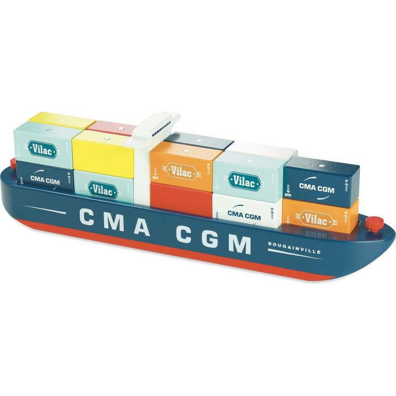 Vilac - Vilacity Containerschiff magnetisch