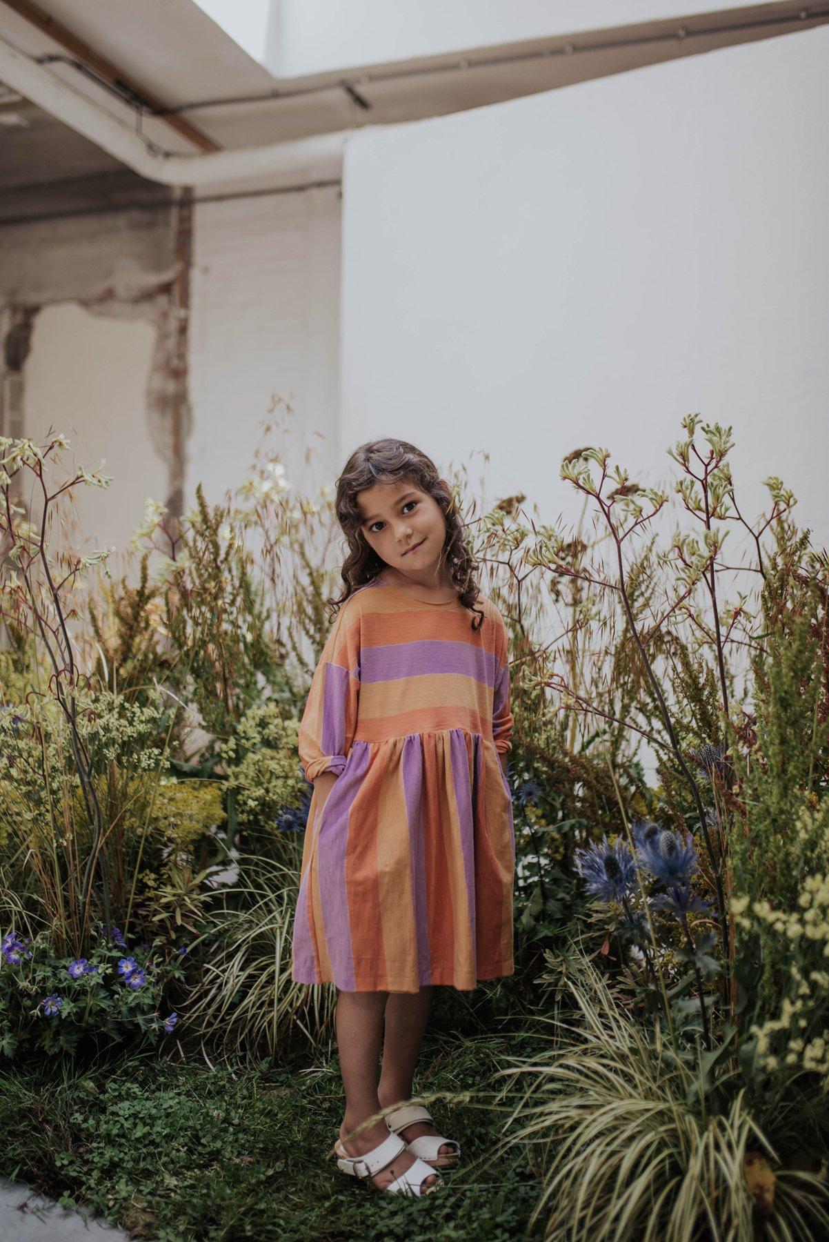 Repose AMS - Simple Dress Peachy Lavender
