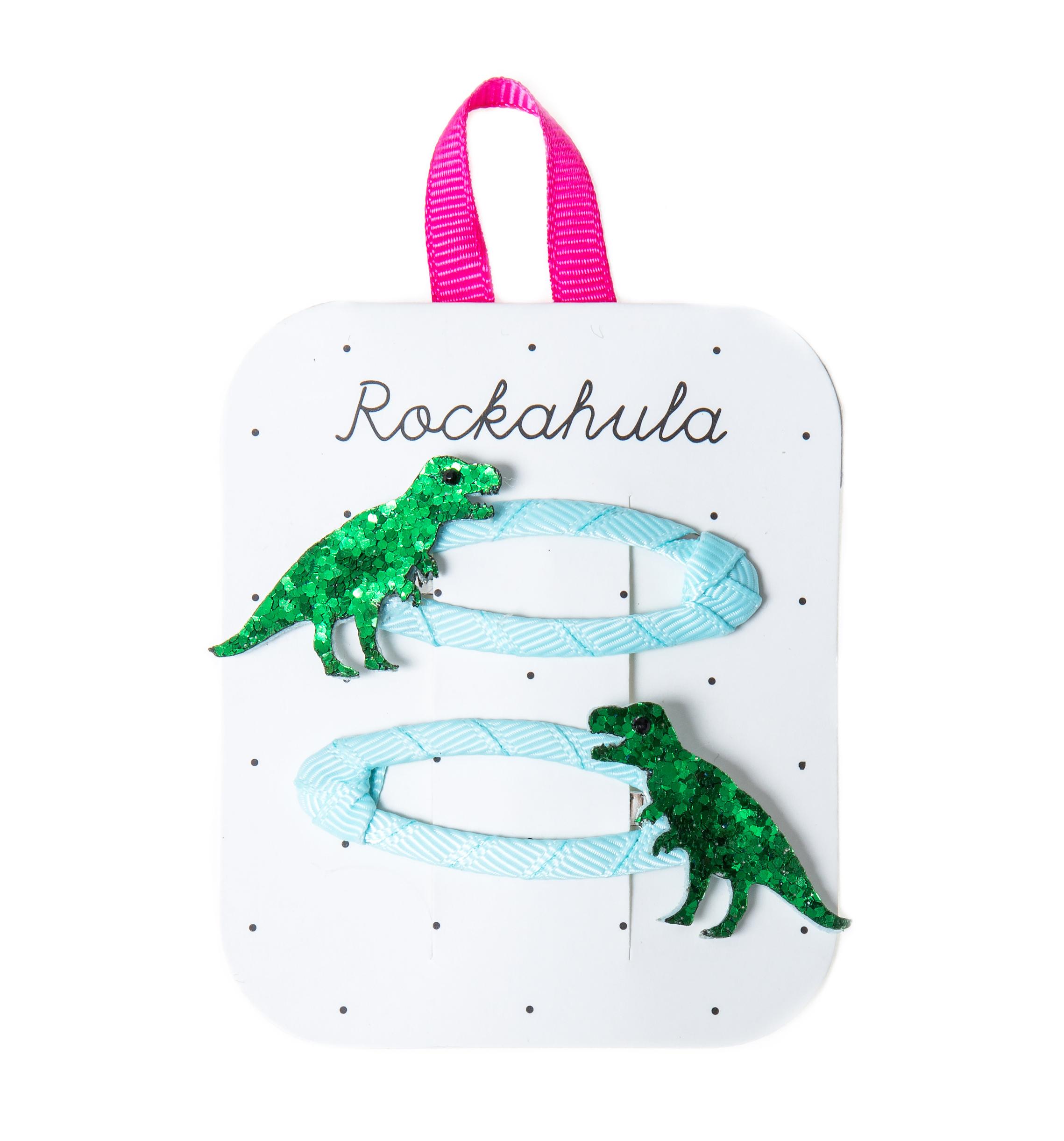 Rockahula - T-Rex Glitter Haarspange