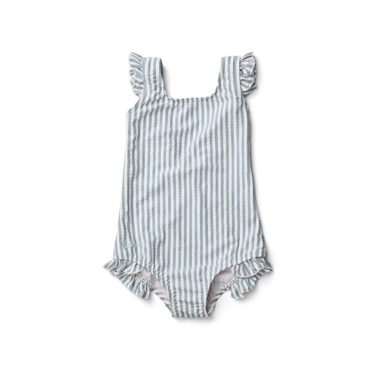 Liewood - Tanna Swimsuit Stripe/Sea blue