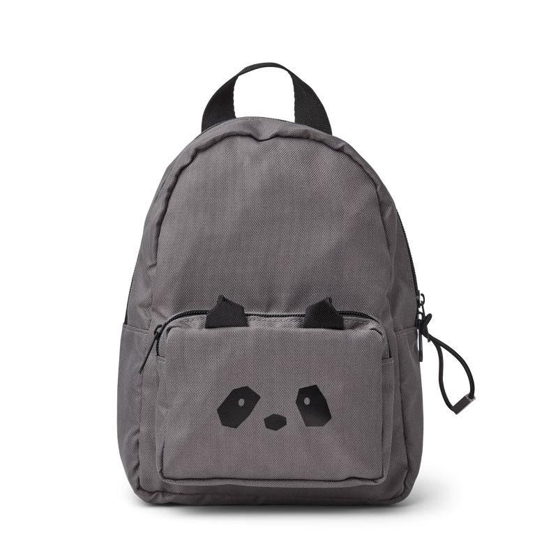 Liewood – Saxo Mini Rucksack Panda stone grey