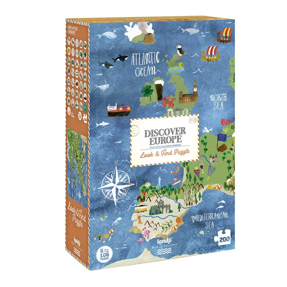 Londji - Discover Europe Puzzle