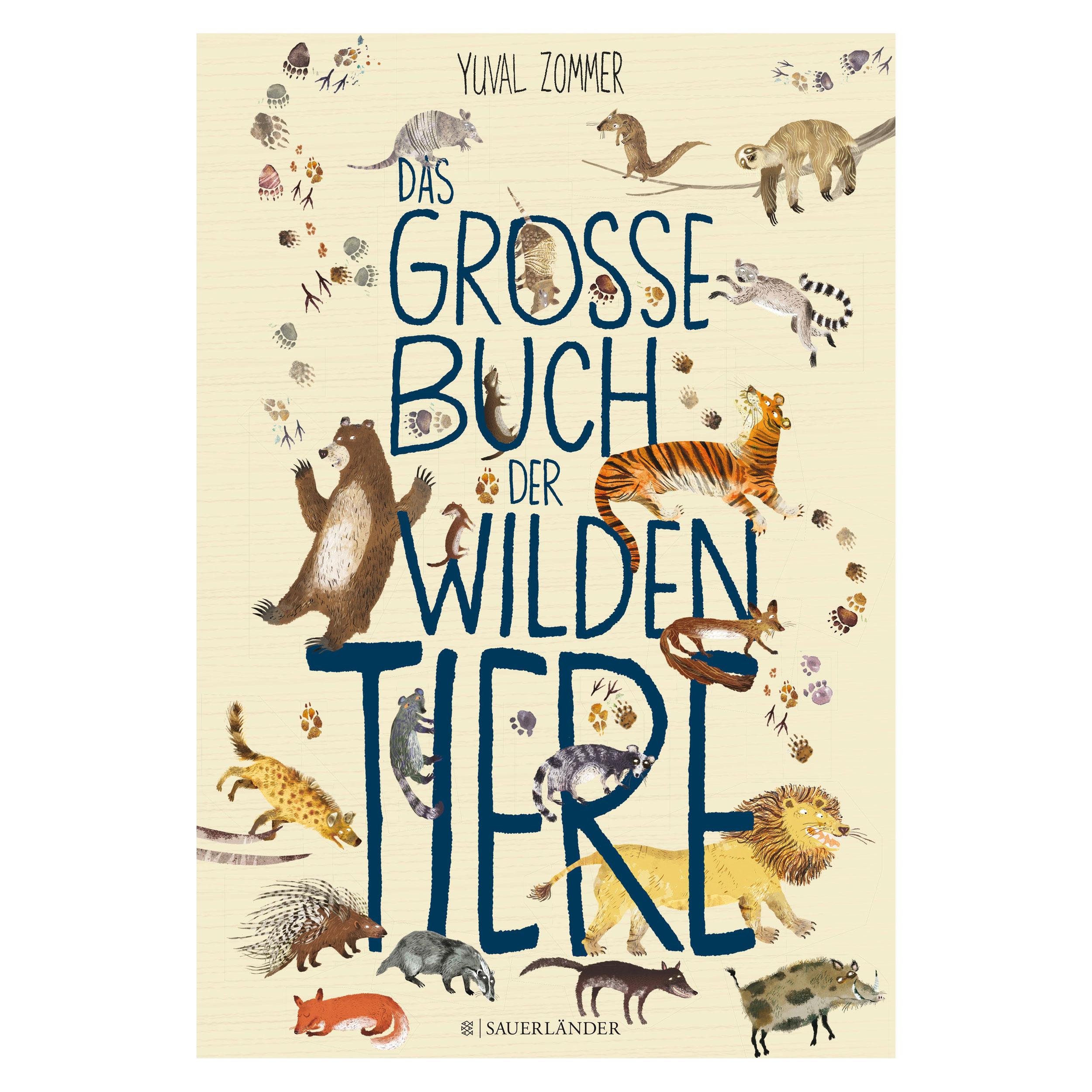 Das große Buch der wilden Tiere ab 4J.