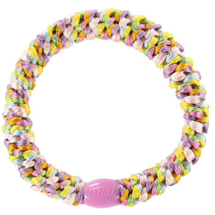 Kknekki - Haargummi Pastell Rainbow