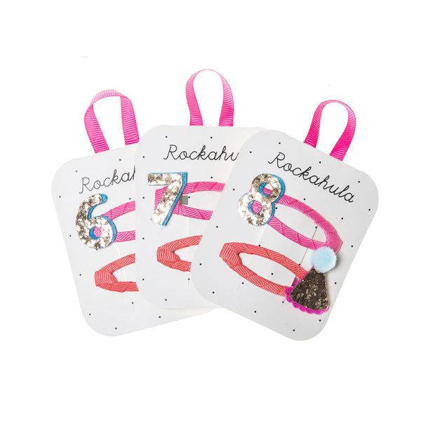 Rockahula - Birthday Glitter Haarspangen 6-8 Jahre