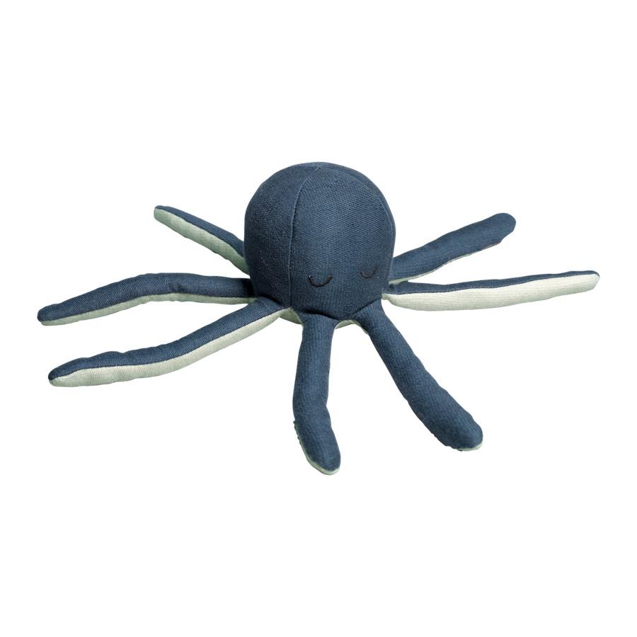 Fabelab - Octopus Rattle Blue Spruce