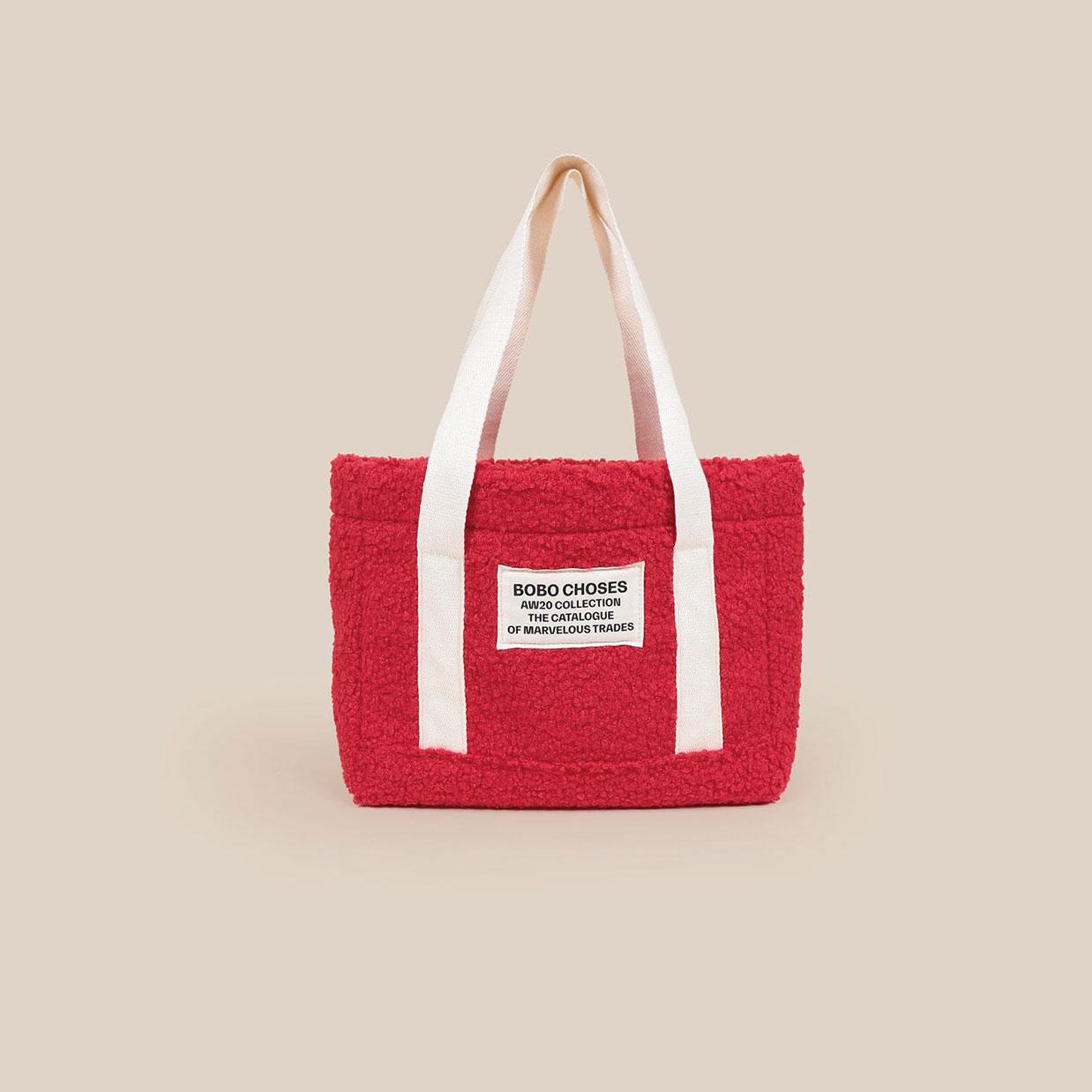 Bobo Choses - Large Sheepskin Handbag