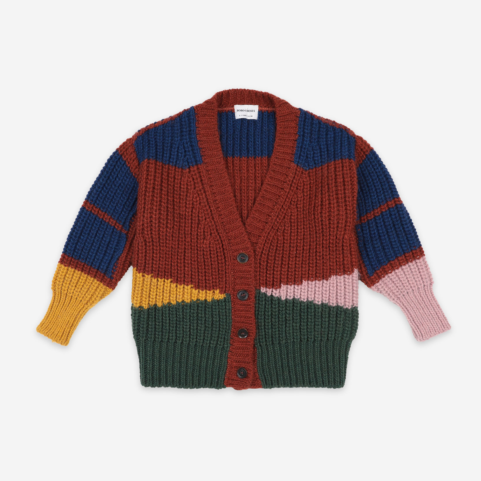 Bobo Choses - Color Block Cardigan