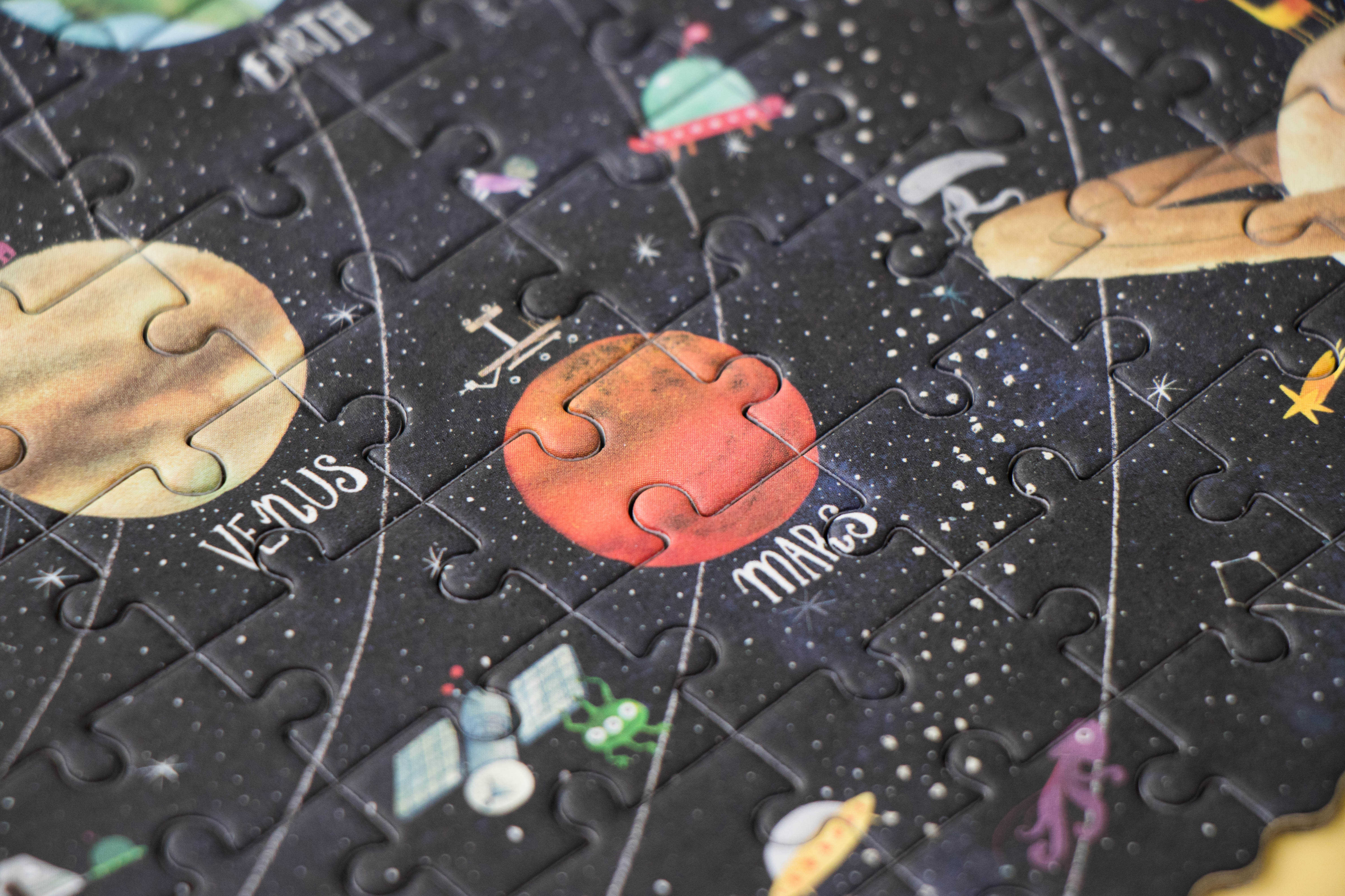 Londji - Discover the Planets Pocket Puzzle