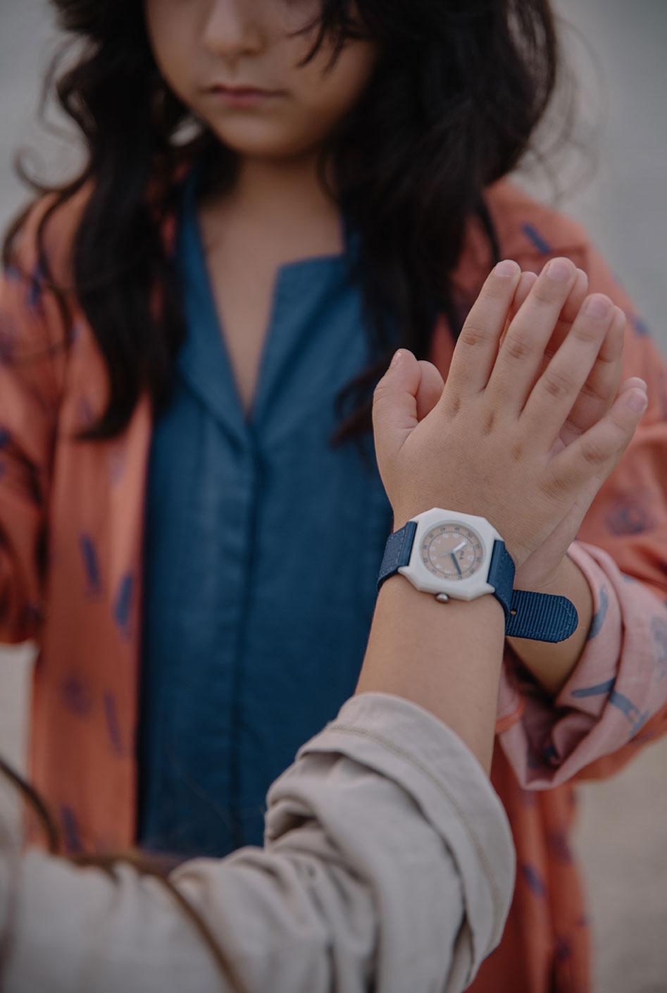 Mini Kyomo - Kinder Armbanduhr Deep Sea