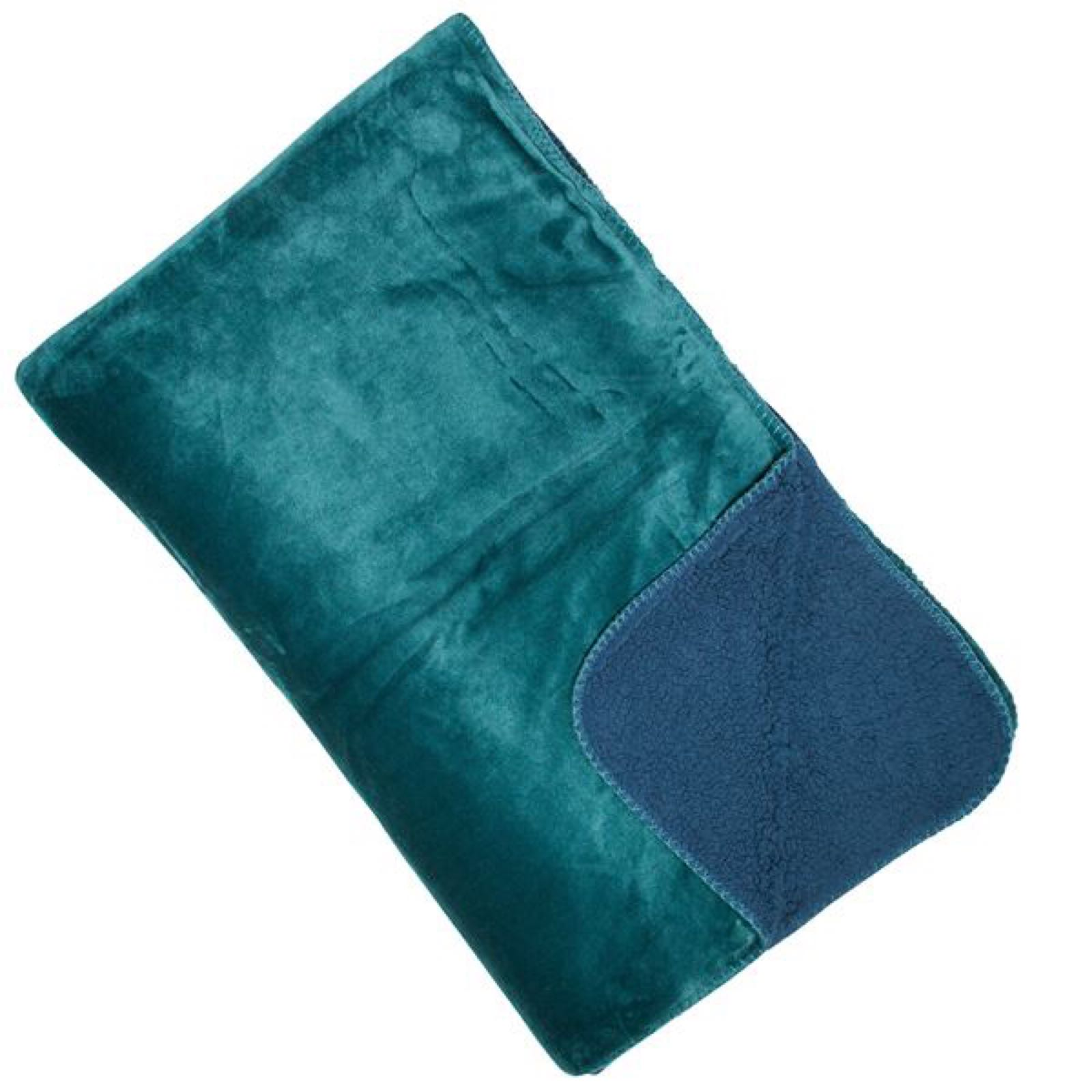 Cosy Throw - Teal