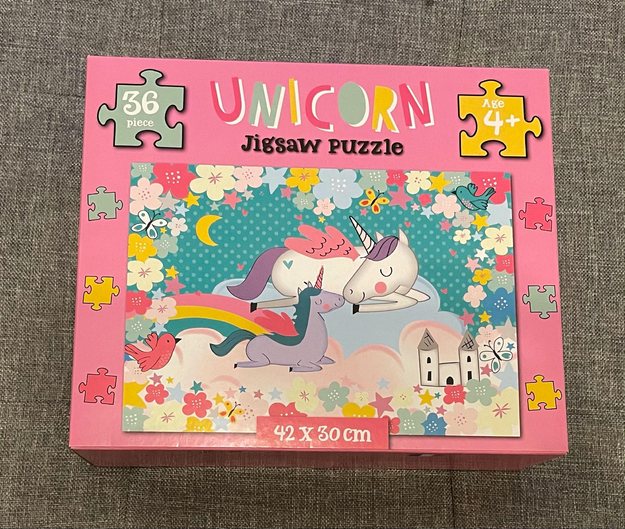 Unicorn Jigsaw Puzzle 42x30cm 36 pieces