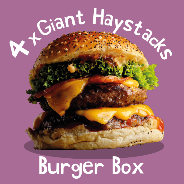 4 x Giant Haystacks Burger Box