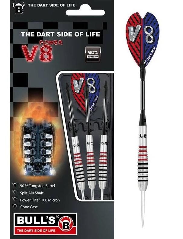 BULL'S V8 V3 Steel Dart 24g