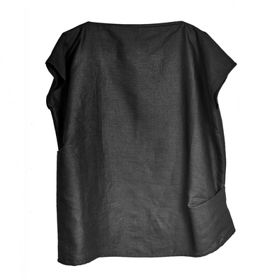 LAURIJARVINENSTUDIO: Boxie Blouse, pellavaa