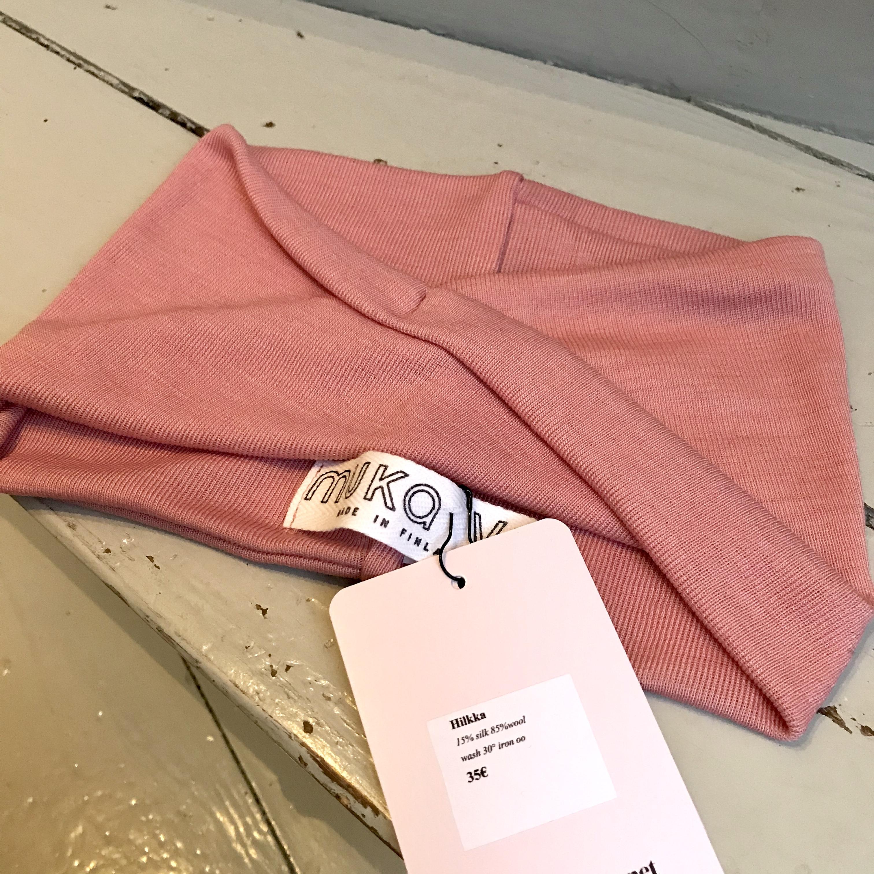 MUKA VA: Hilkka-panta, silkki-villaa, eri värejä