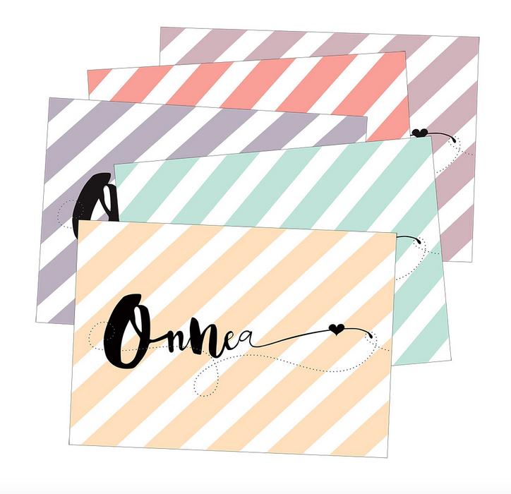 Ainoa Graphic Design: Onnittelukortti, kanerva