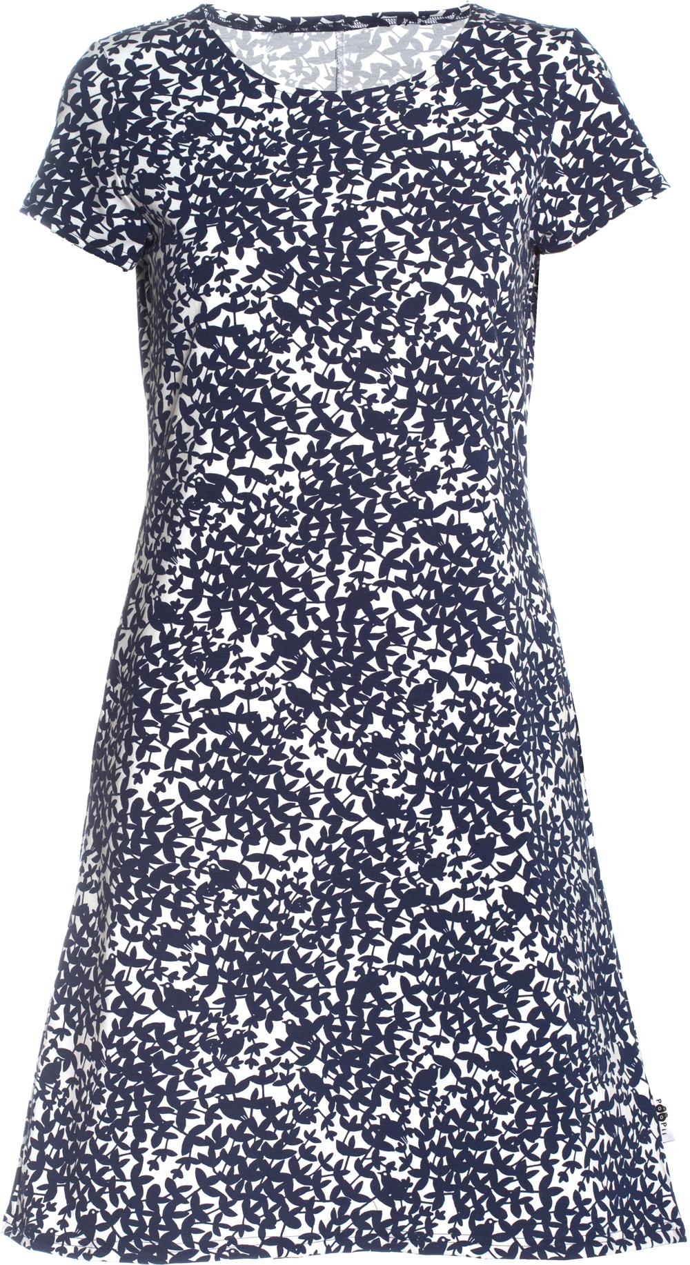 PaaPii Design: Sointu-mekko Satakieli-kuosilla