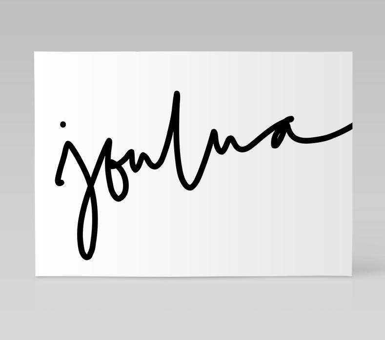 Ainoa Graphic Design: Joulua-kortti