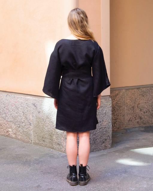 KATIVEE: Kimono Dress