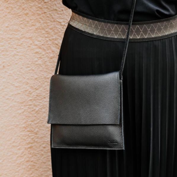 Miiko Design: Jemma-laukku, musta