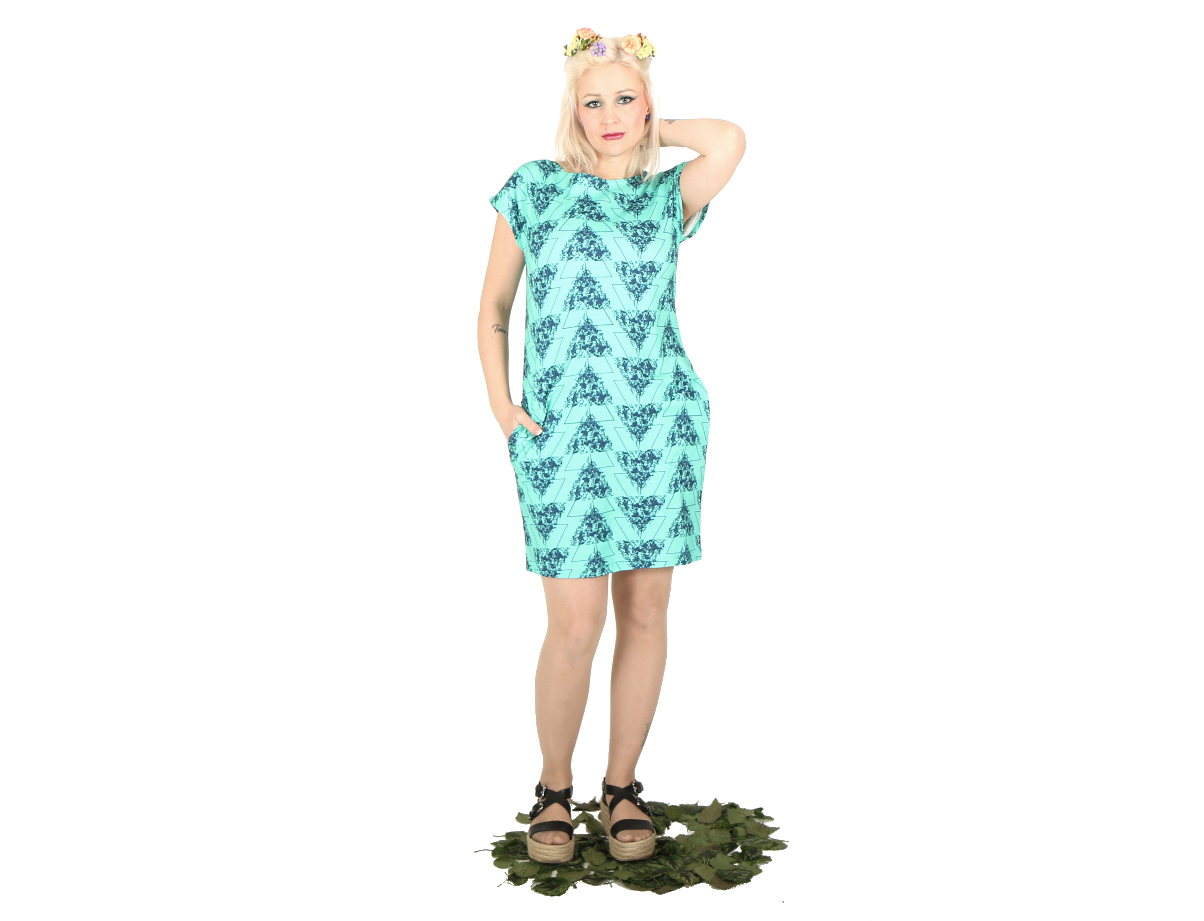 Vietto: Wildflowers-mekko, eri värejä