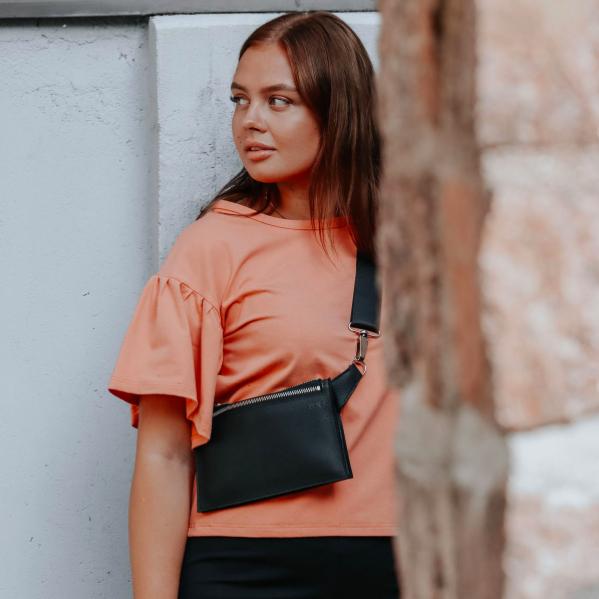Miiko Design: Hippa-laukku, musta