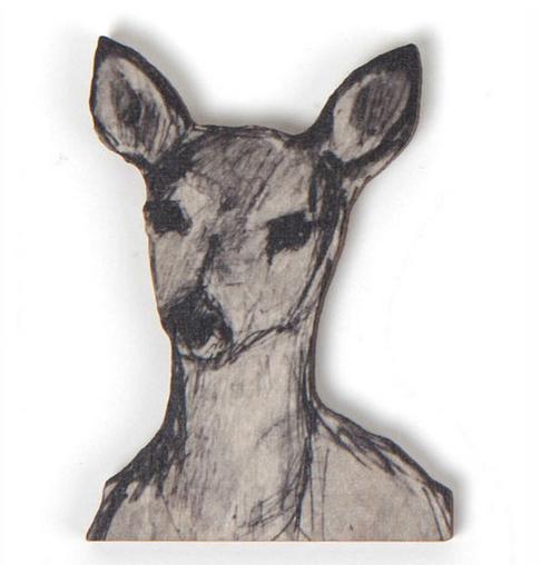 Miiko Design: Peura-magneetti