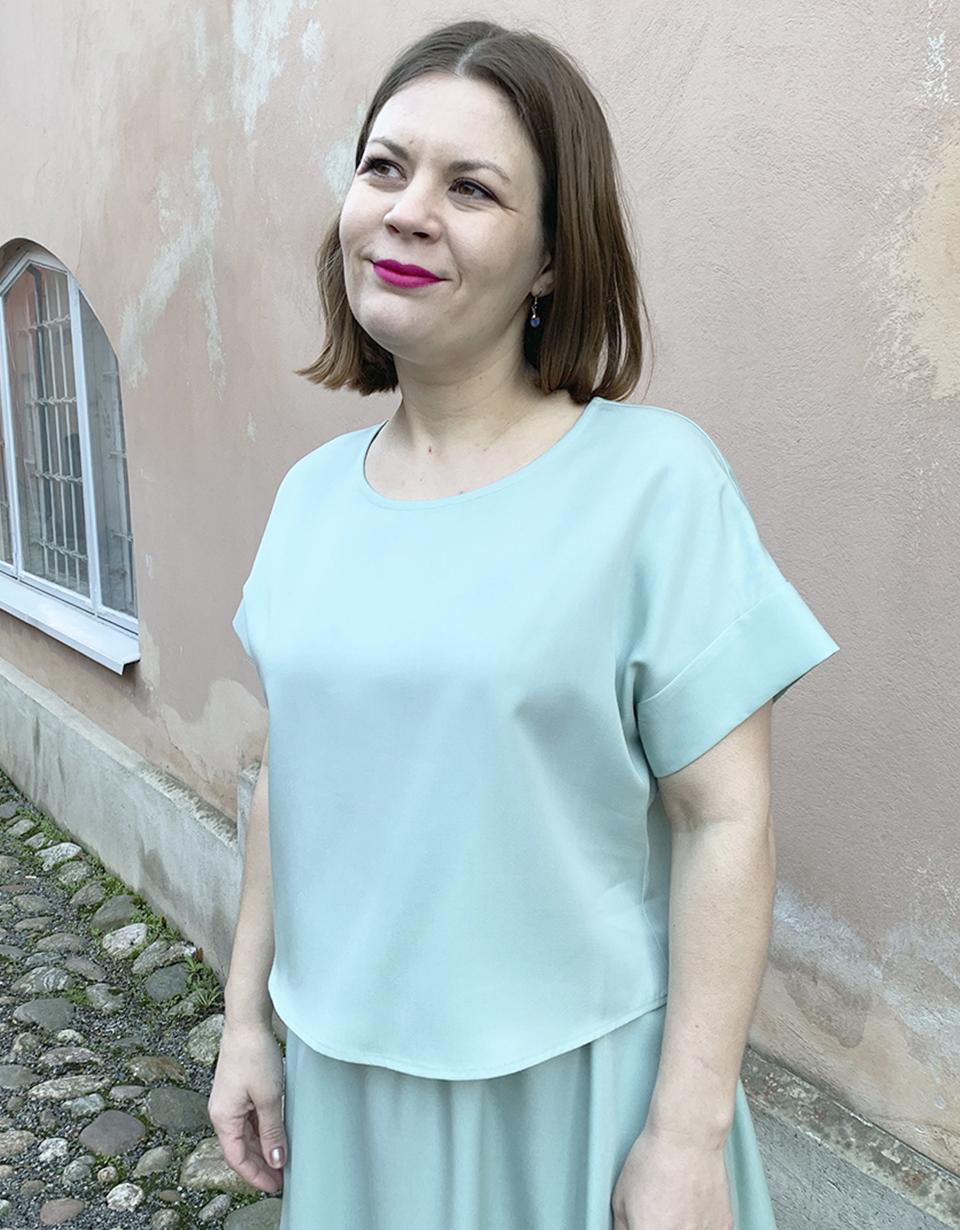 Vuurran: mintunvihreä Vellamo-paita