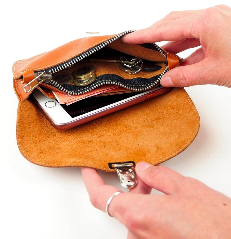 Cobblerina: vaaleanpunainen lompakko