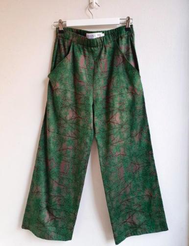 MUKA VA: Hulda-housut Pine-kuosilla, ALE