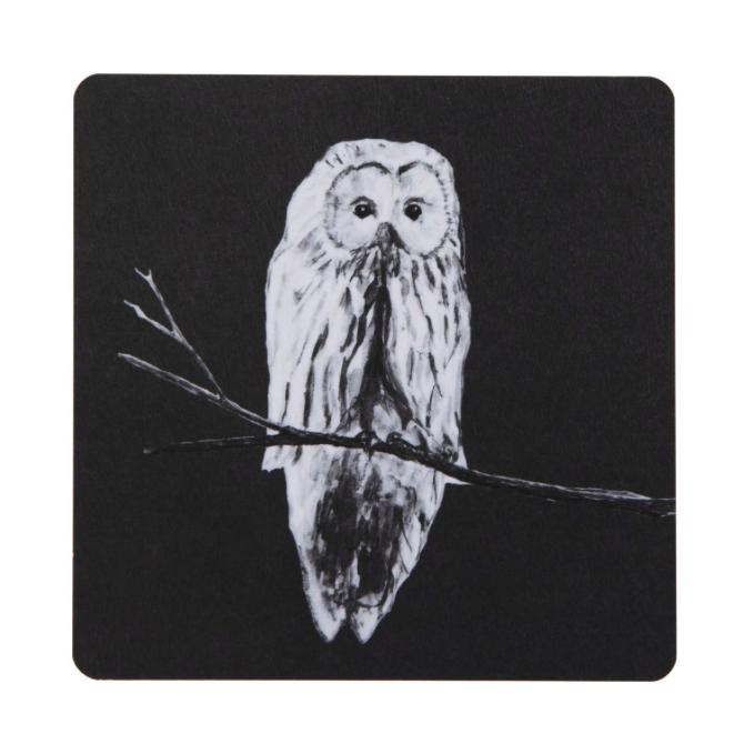 Miiko Design: Pöllö-lasinalunen