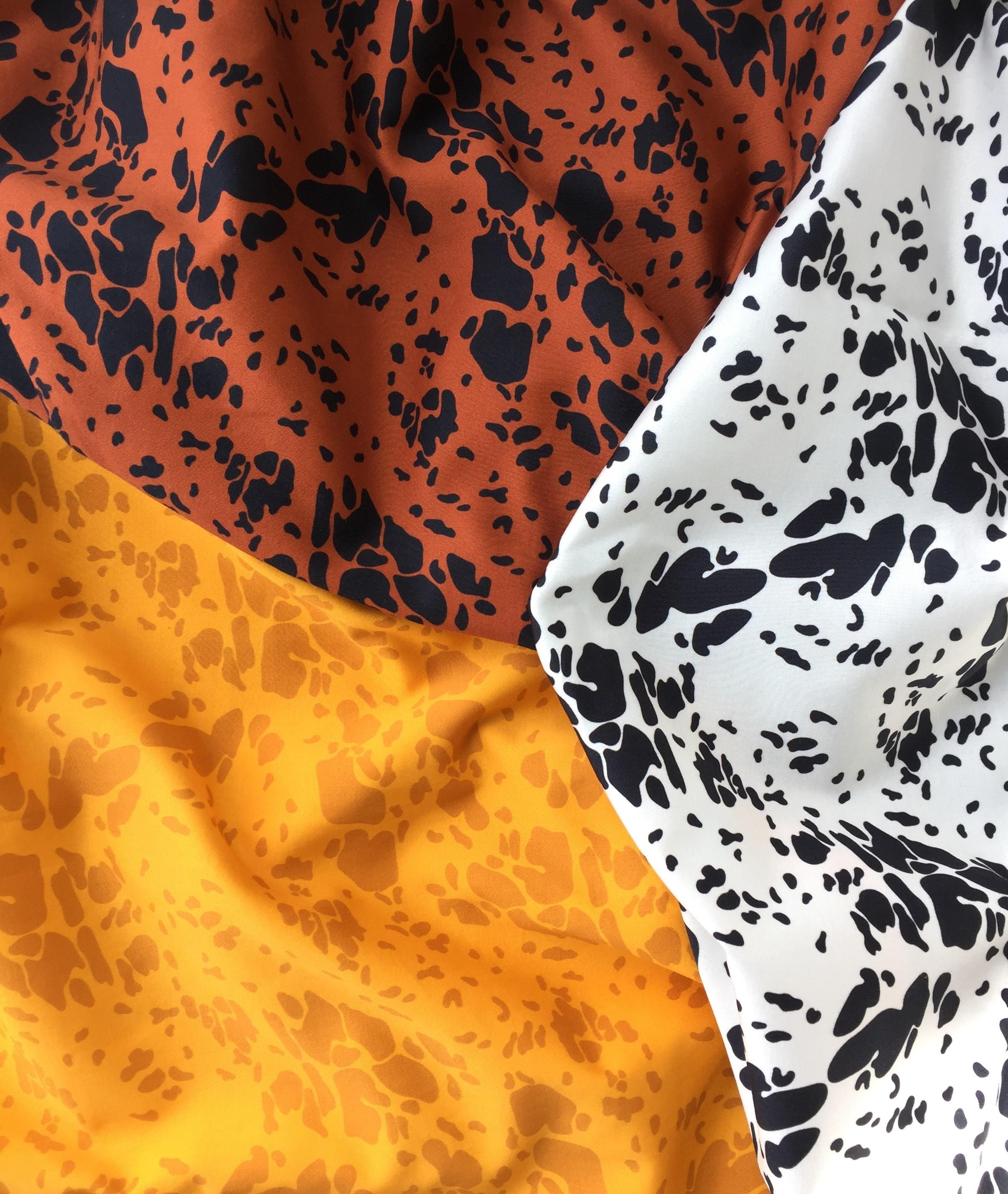 Vuurran: oranssi Matruusi-hame Saaristomeri-kuosilla