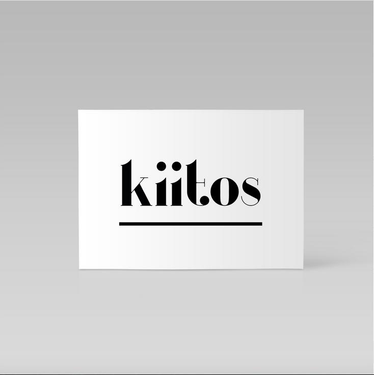 Ainoa Graphic Design: Kiitoskortti