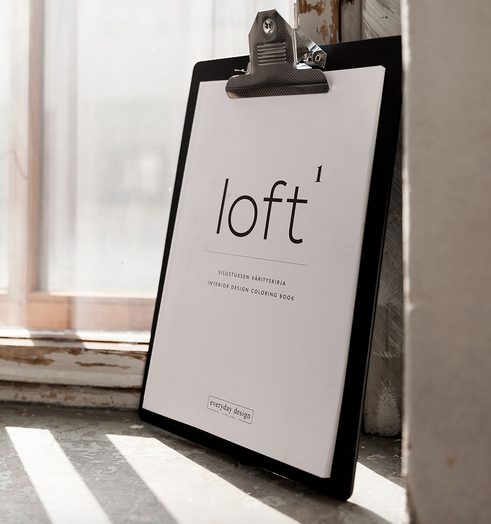 Everyday Design: Loft - sisustuksen värityskirja