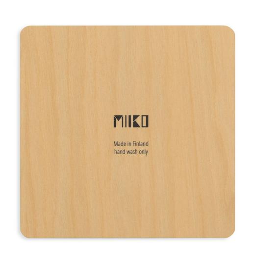 Miiko Design: vihreä Koivumetsä-lasinalunen