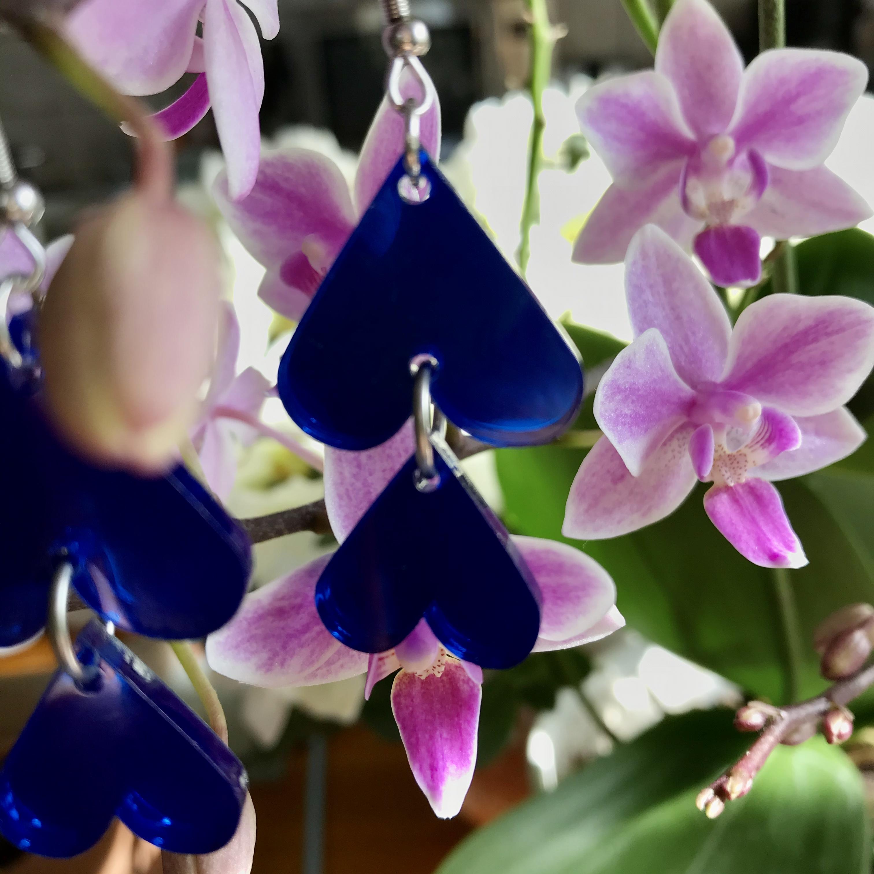 Jatuli: Cherie-korvakorut, sininen