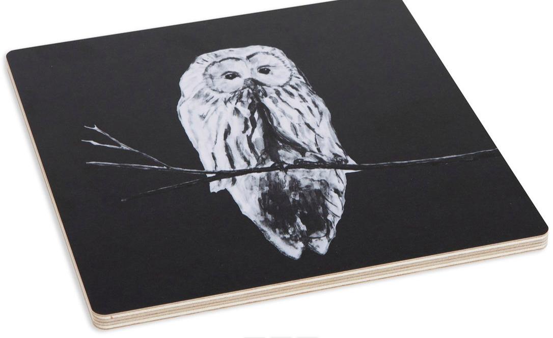 Miiko Design: Pöllö-pannunalunen