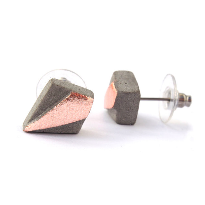 KATIVEE: Diamond-korvakorut, eri metallivärejä