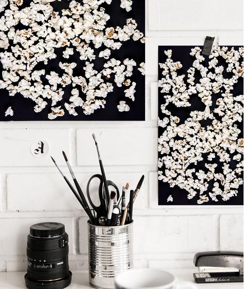 Ainoa Graphic Design: Popcorn-juliste