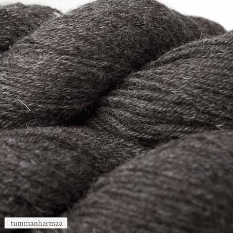 Vuonue: tummanharmaa, muoviton Pentti-villasukkalanka