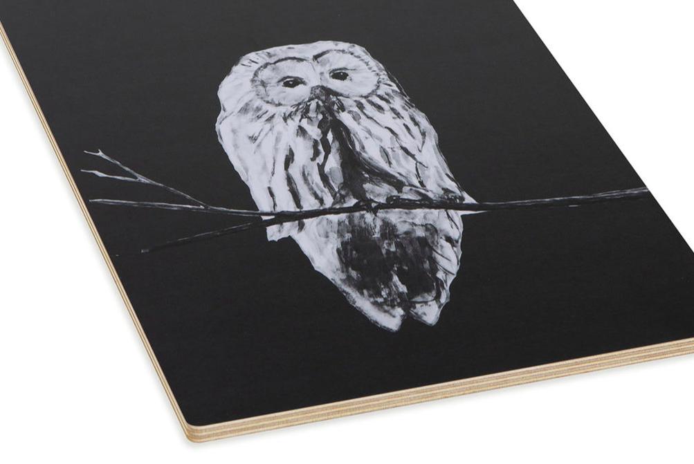 Miiko Design: Pöllö-leikkuulauta