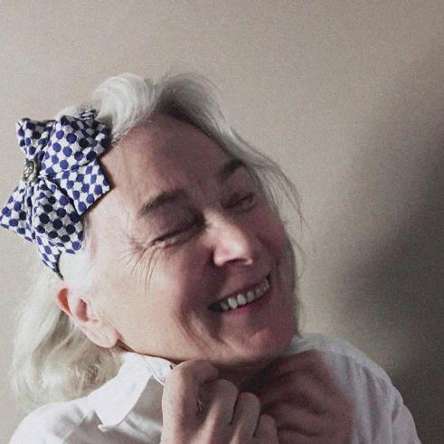 Tyra Therman: Origami-panta, käärmekuosi, ALE