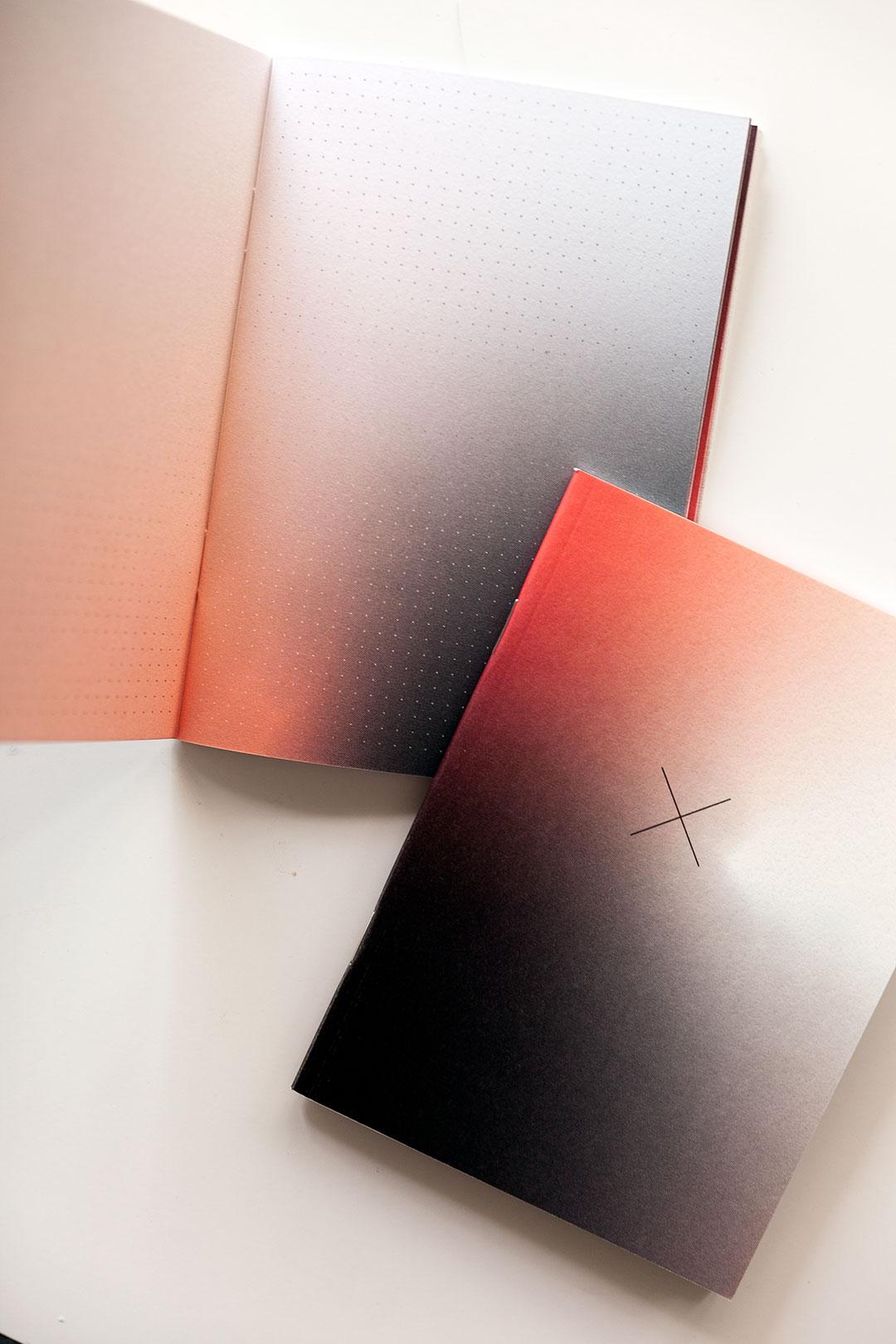 Ainoa Graphic Design: Aura Notebook Elements - viiden vihkon setti