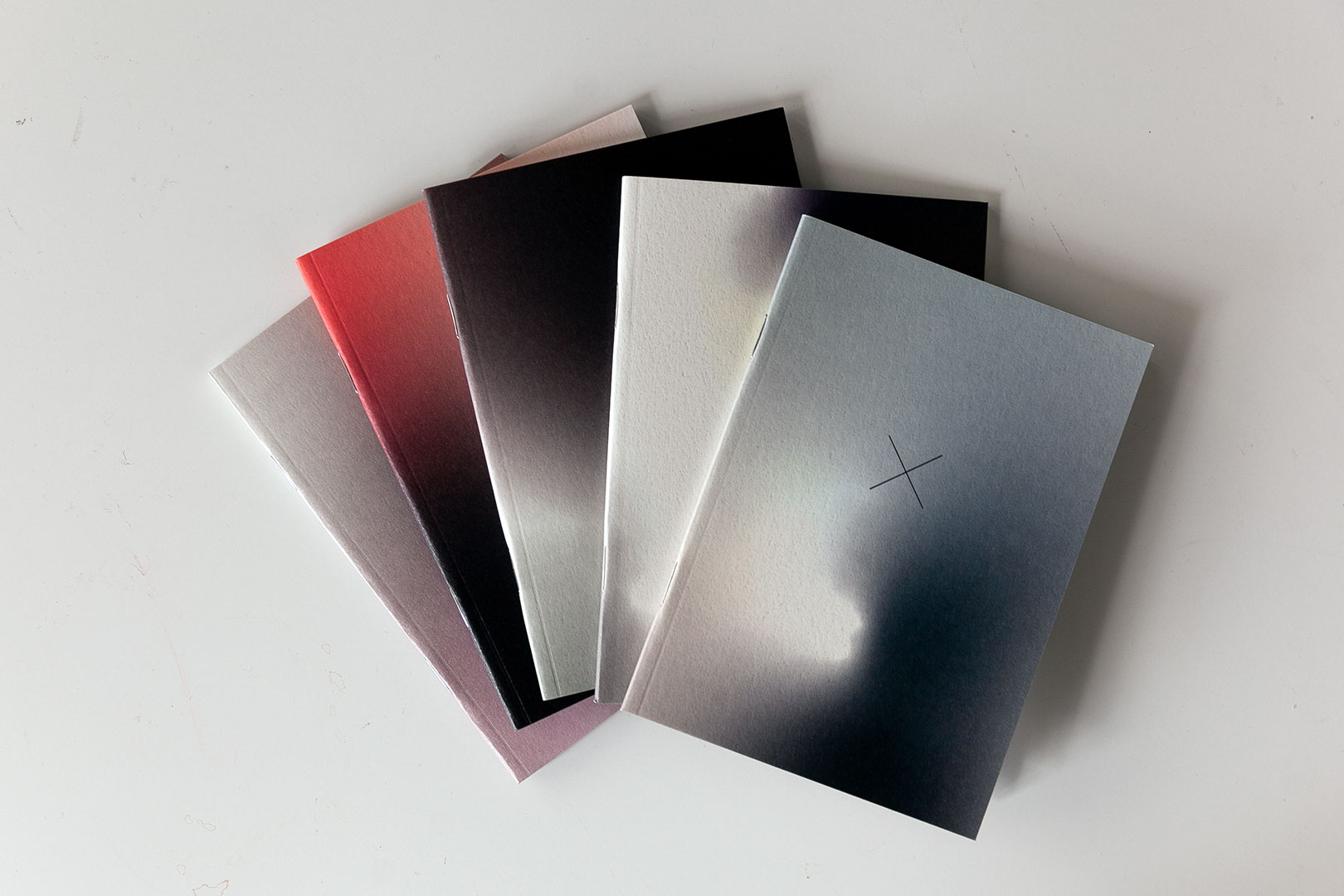 Ainoa Graphic Design: Aura Notebook Elements - viiden vihkon setti