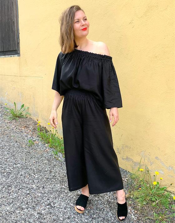 Vuurran: Ilmatar-culottes, musta