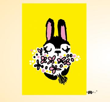 PaaPii Design: Pupunen-postikortti